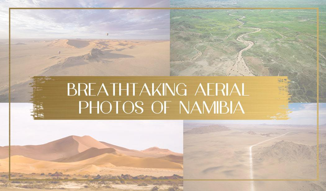 Aerial Photos of Namibia feature