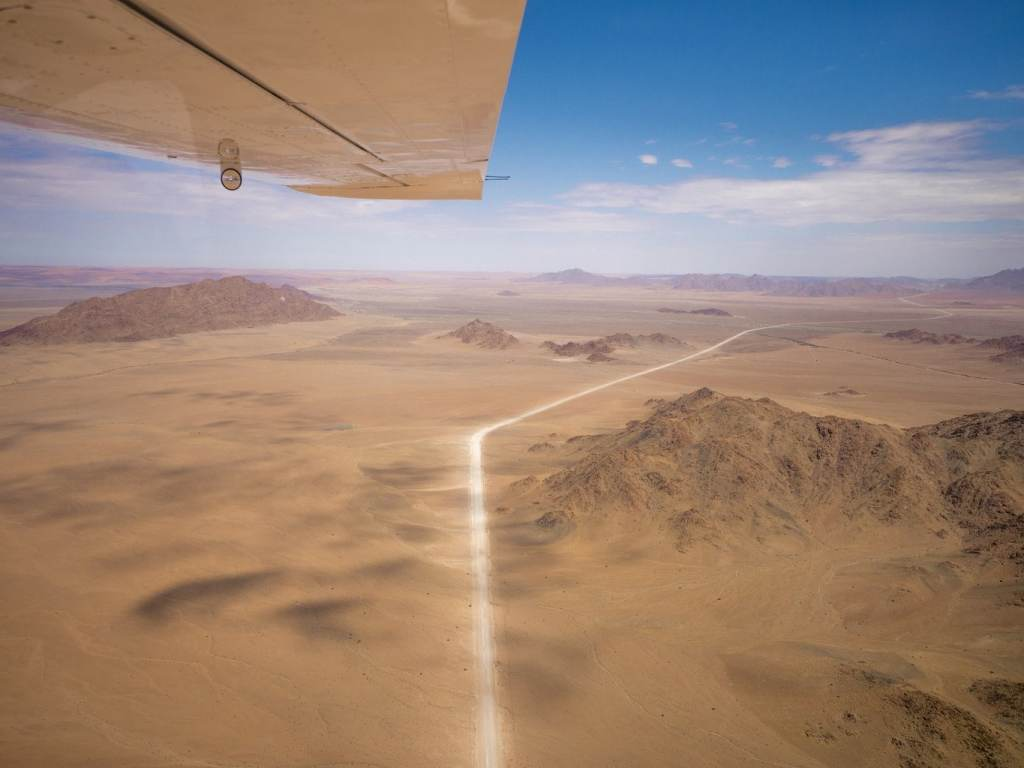 Dirt roads of Namibia