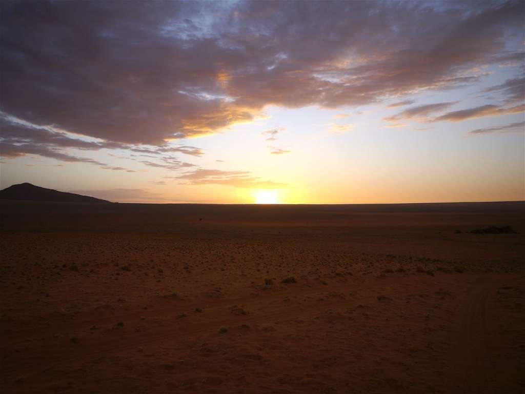 Sunset in the NamibRand Reserve
