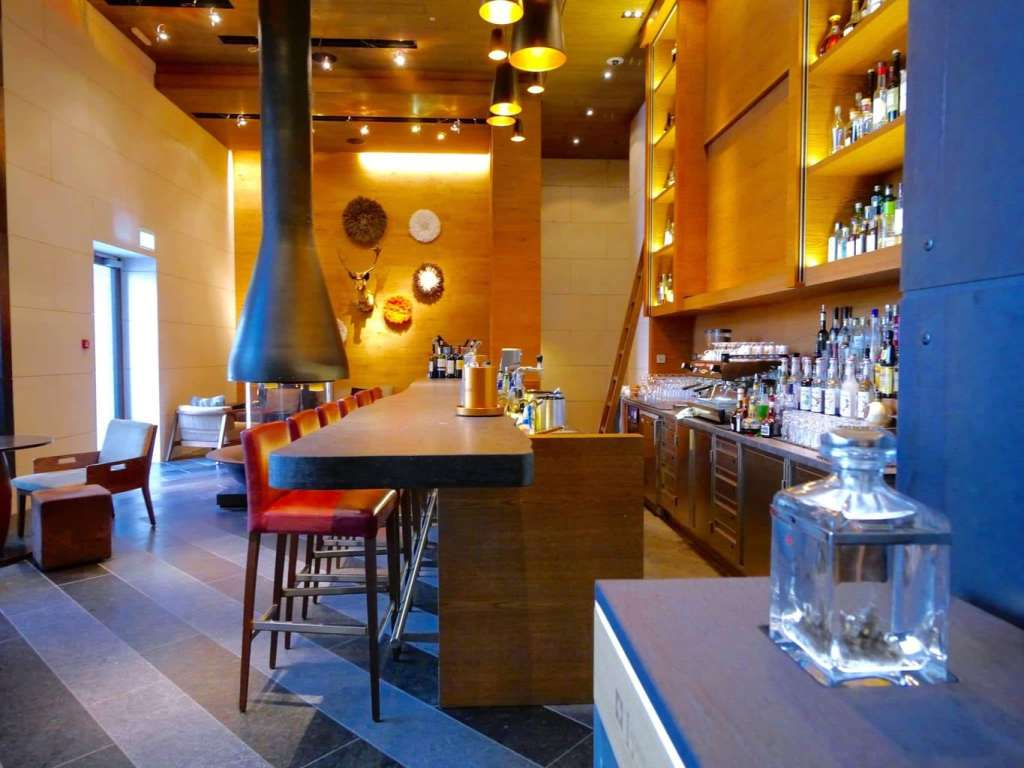 The Chedi Andermatt bar