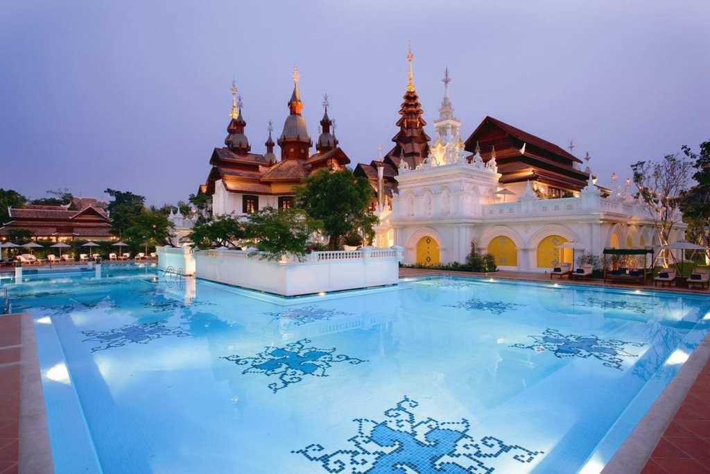 Dhara Devi Chiang Mai colonial pool
