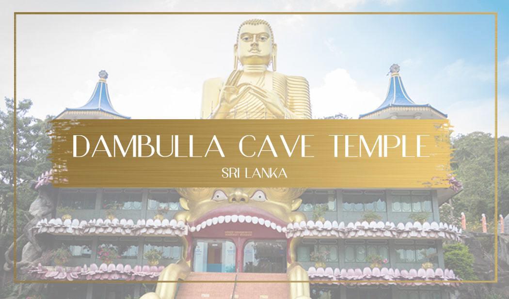 Dambulla Cave Temple main