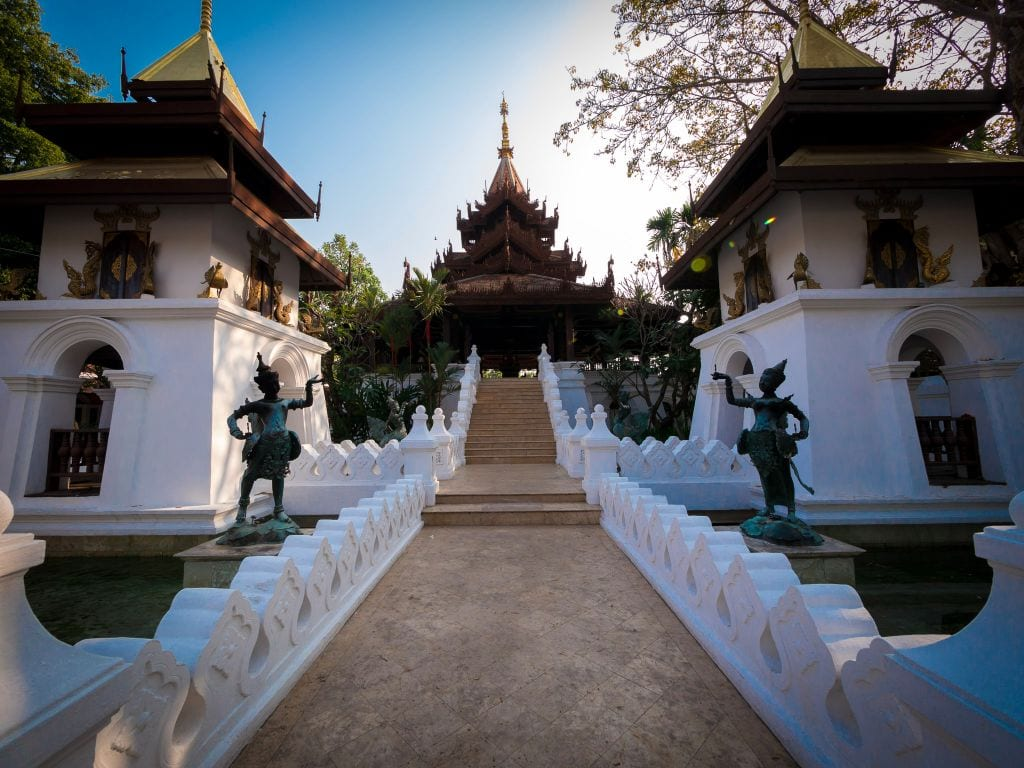 Dhara Devi Chiang Mai entrance