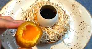 """""""Disfrutar egg and mushroom"""""""