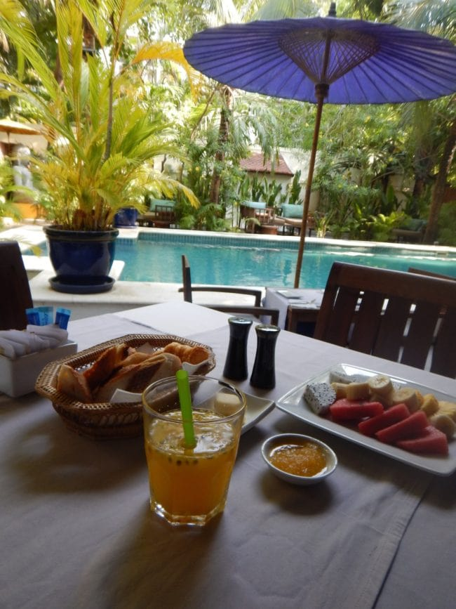 """Breakfast at The Pavilion Phnom Penh"""