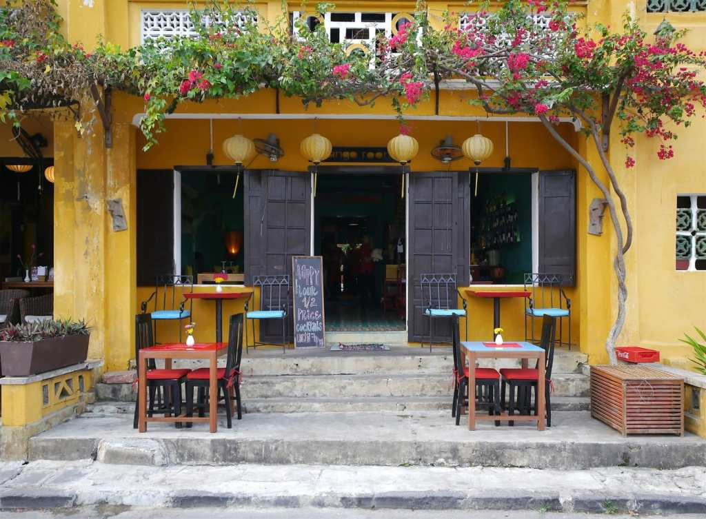 Cute restaurant Hoi An