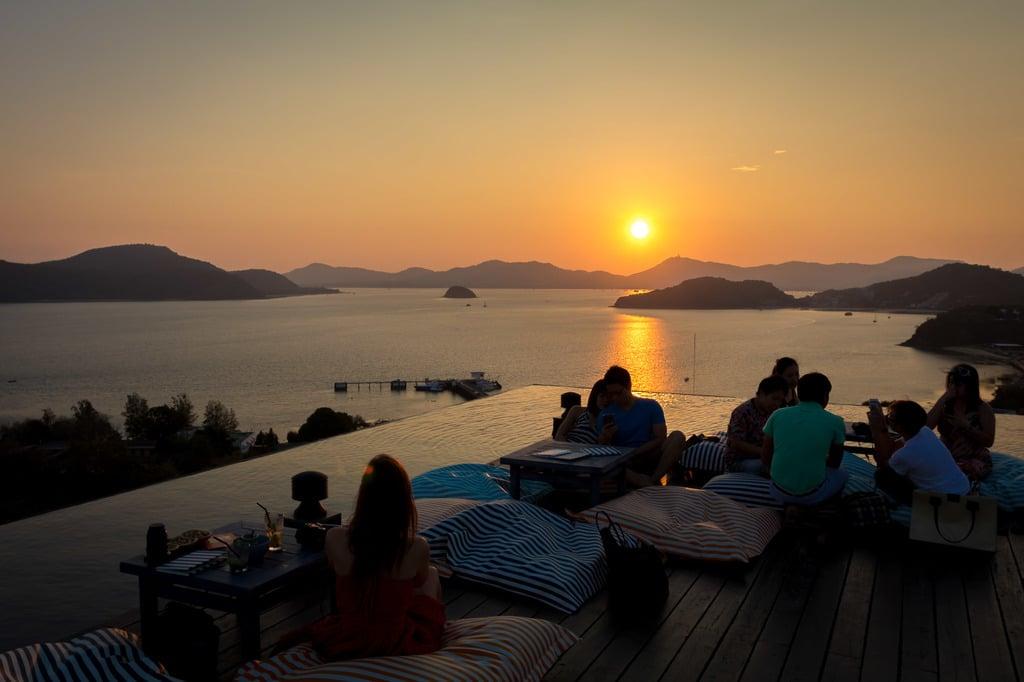 """Sunset from Sri Panwa Baba Nest"""