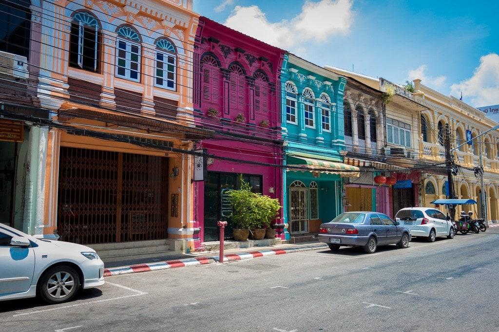 """Romanee Street in Phuket Old Town"""
