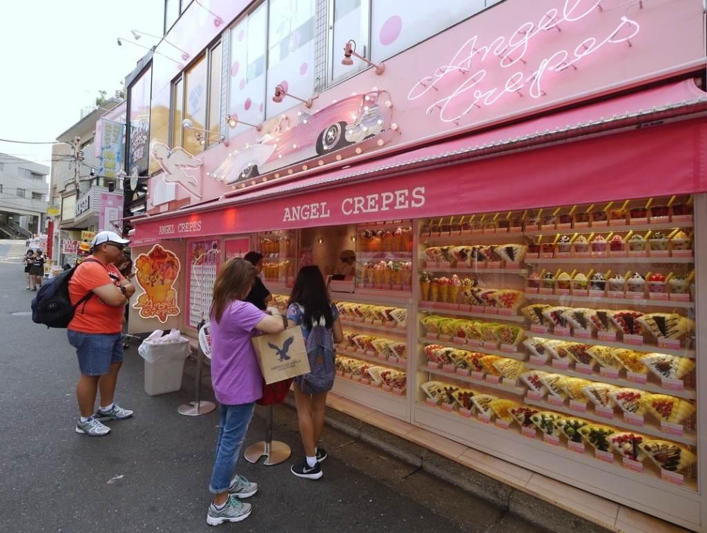 Crepe store in Harajuku
