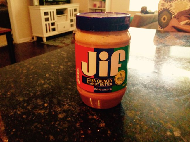 """Jif peanut butter"" travelers miss from home"