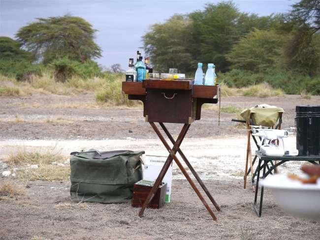 """Safari drinks chest """