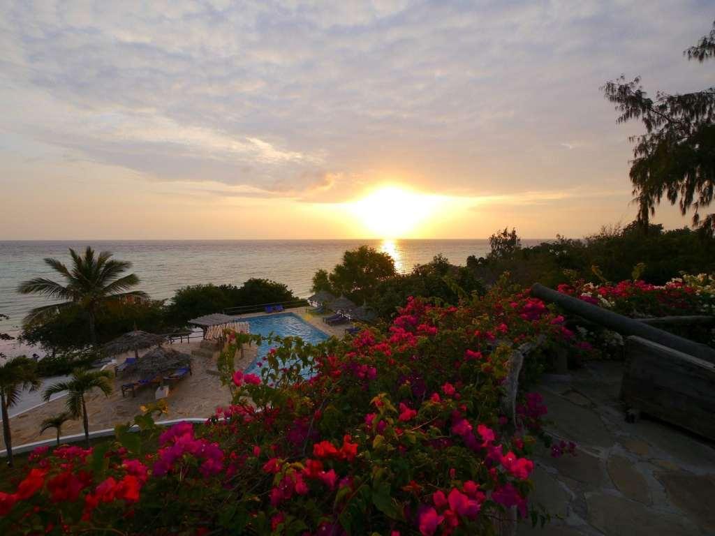 Sunset at The Manta Resort