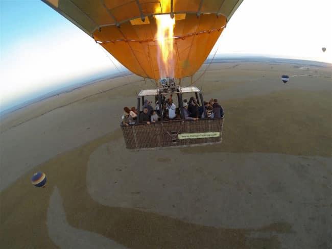 """Hot air balloon over the Masai Mara"""