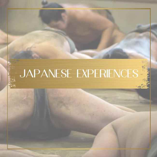 Japanese experiences feature