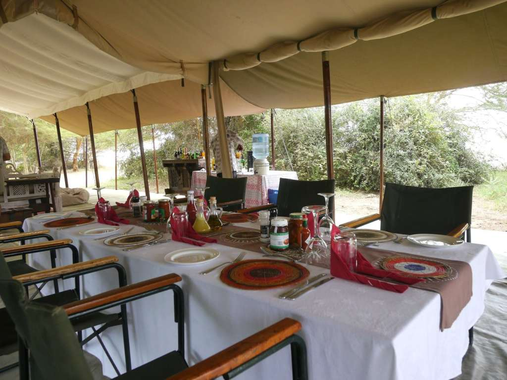 Lunch on safari