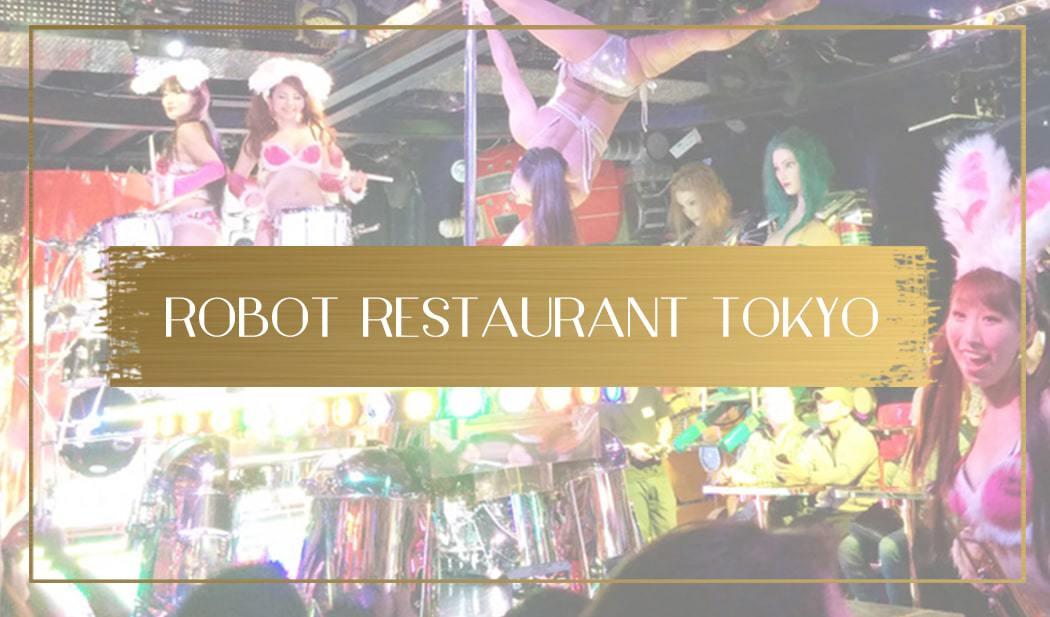 Robot restaurant tokyo main
