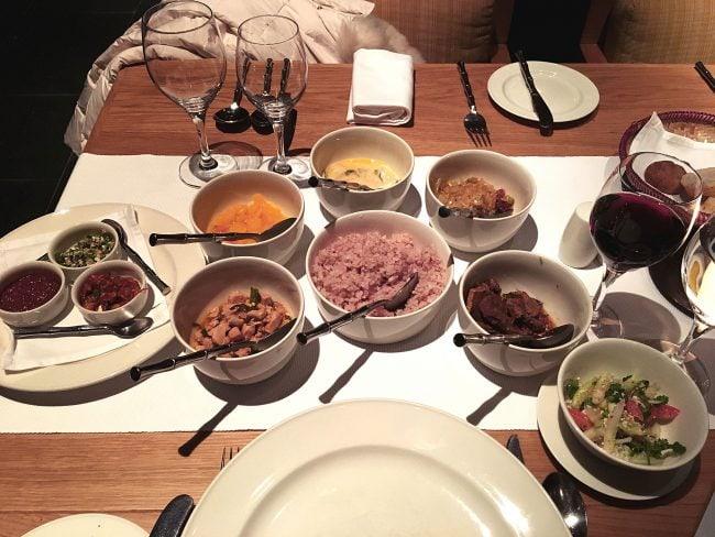 """Bhutanese feast"""