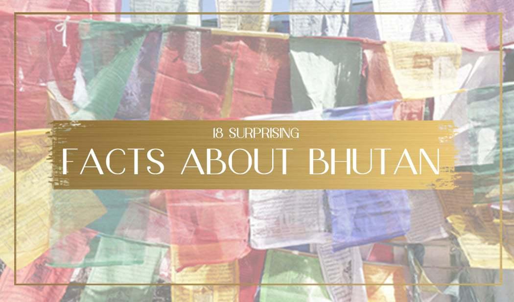Facts about bhutan main