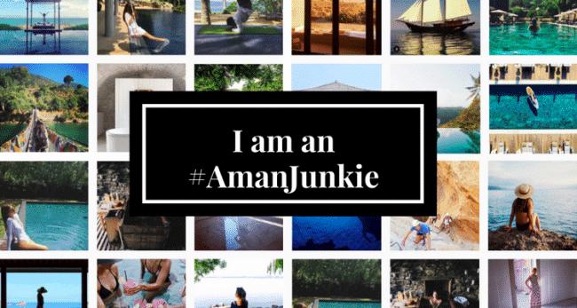 """""""I am an Aman Junkie"""""""