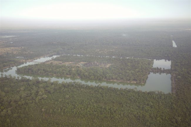 """""""Angkor Wat from an helicopter"""""""