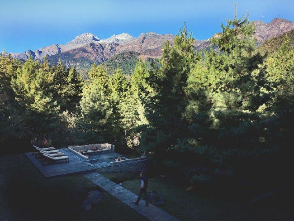 View from Amankora Paro
