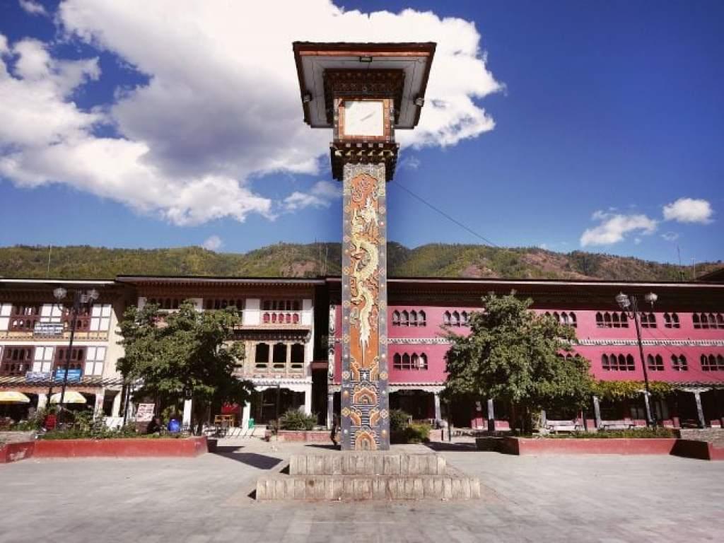 Thimphu clock tower