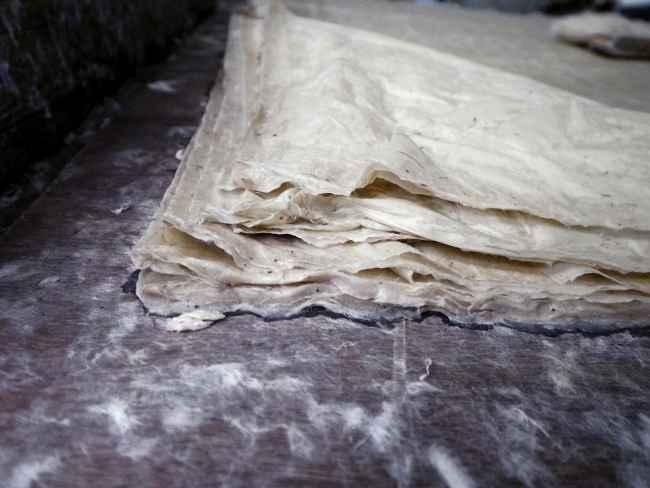 """""""Handmade paper in Bhutan'"""""""
