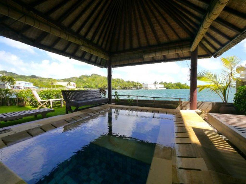 Manta Ray Bay Resort Deluxe room in Yap