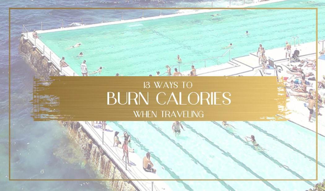 Burn calories while traveling Main