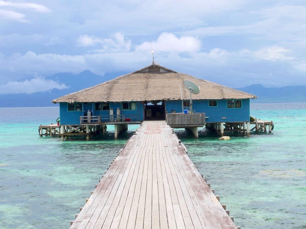 Solomon Islands hut