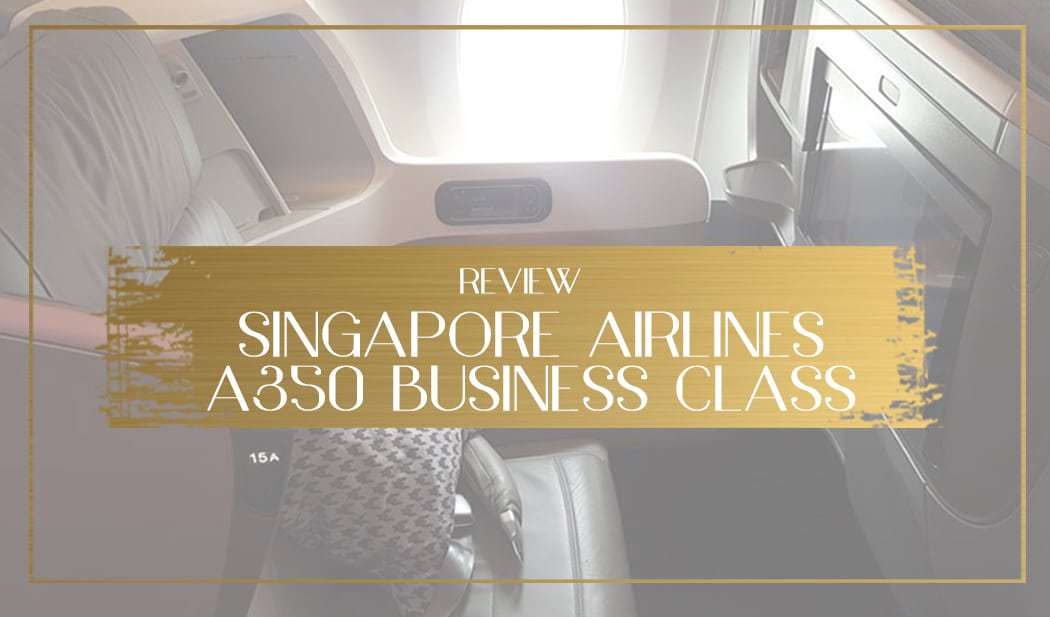 Singapore Airlines A350 main