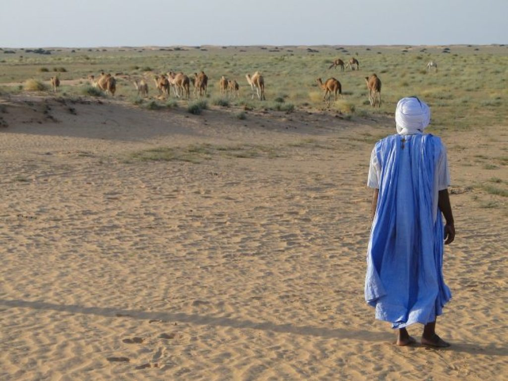 Mauritania least visited countries