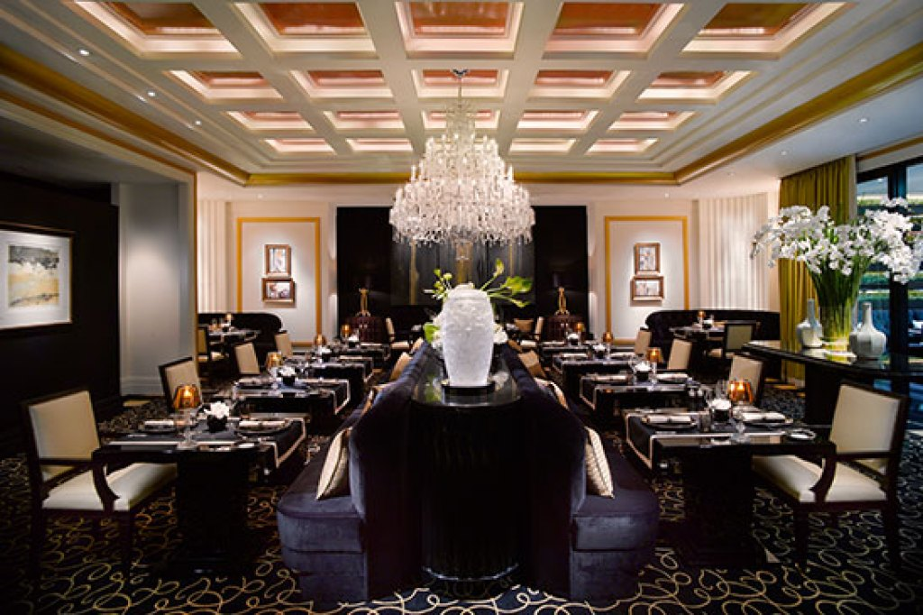 Interior of Joel Robuchon