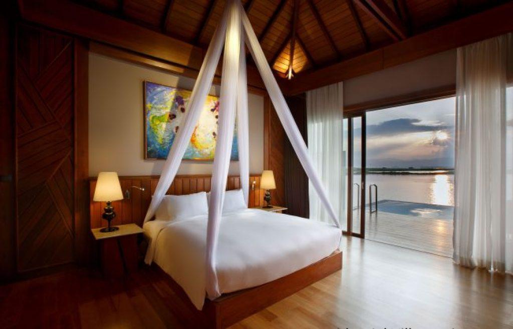 Interior bedroom at the Novotel