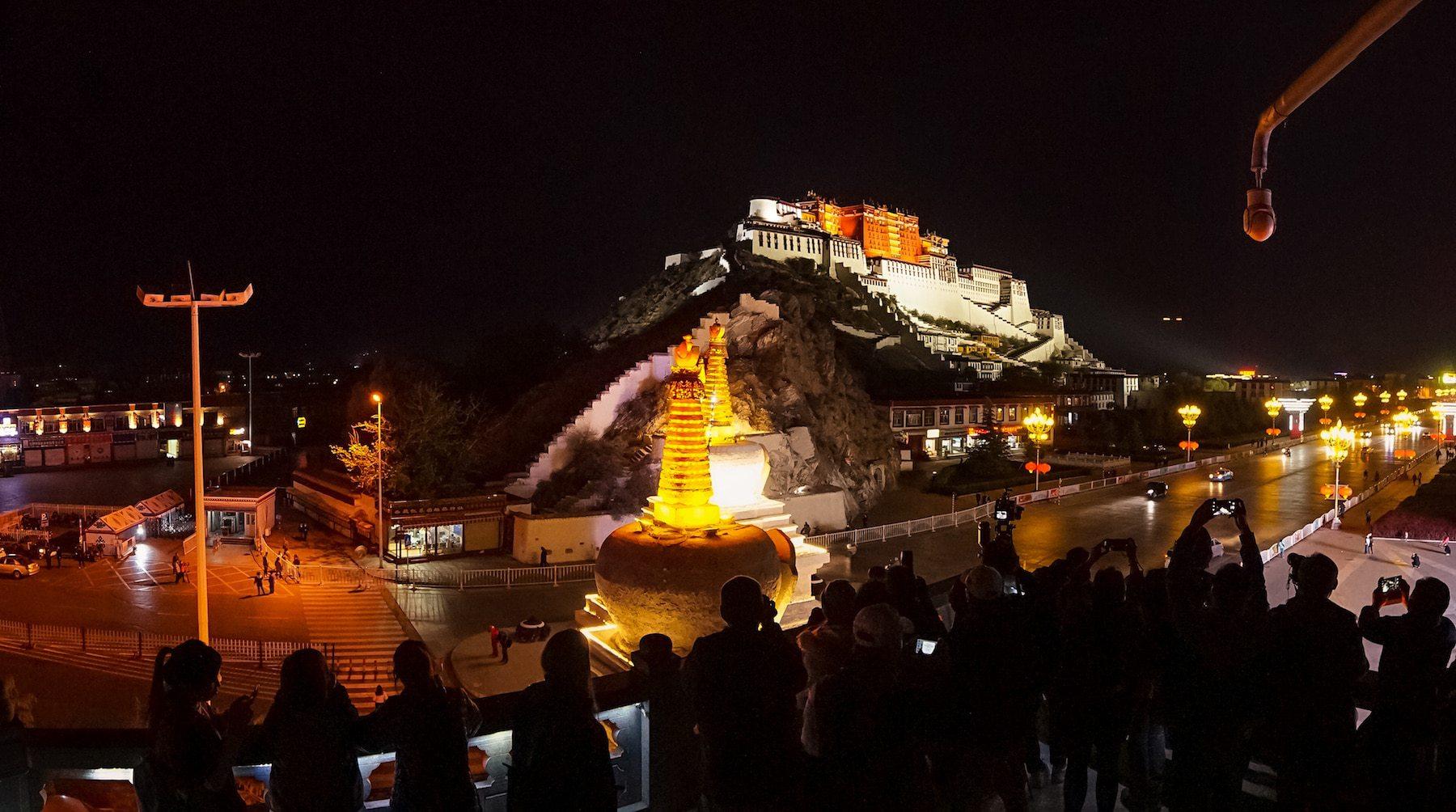 Altitude in Tibet