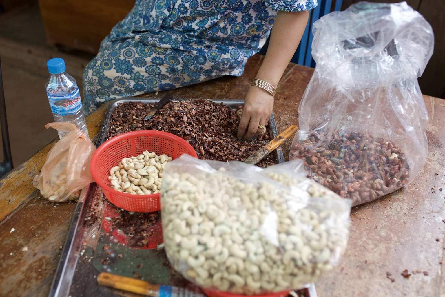 Buying cashews