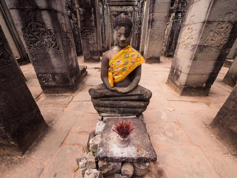 Buddha at Angkor