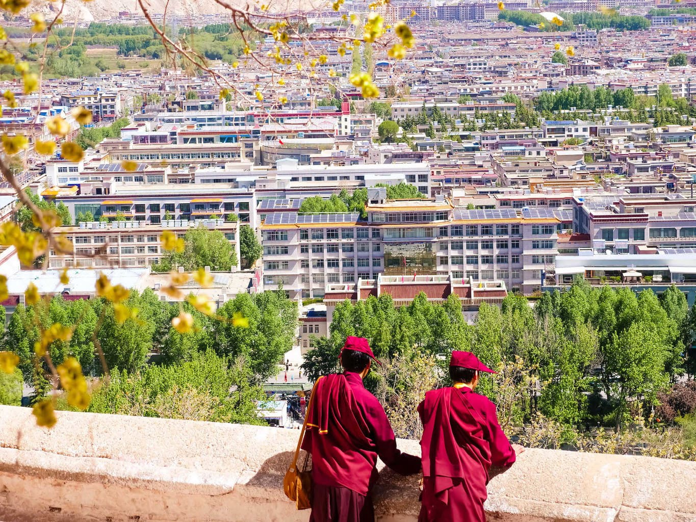 Lhasa from potala