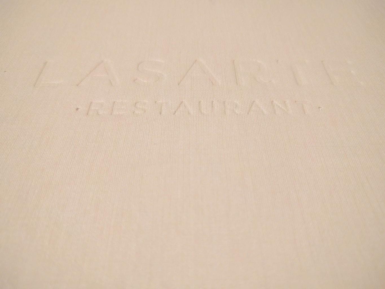 Review of Lasarte Menu