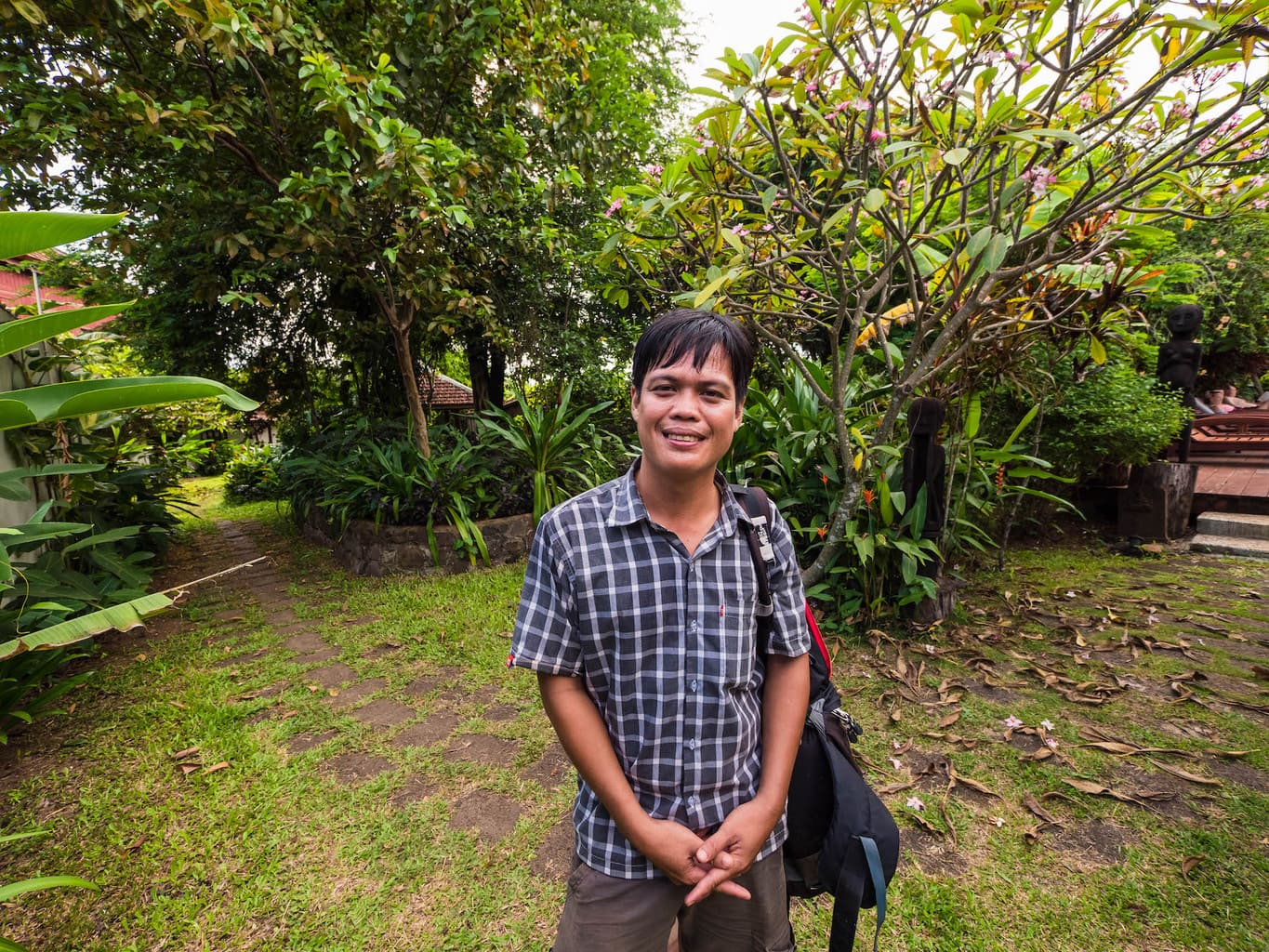 Vuttha guide in the wild east of cambodia