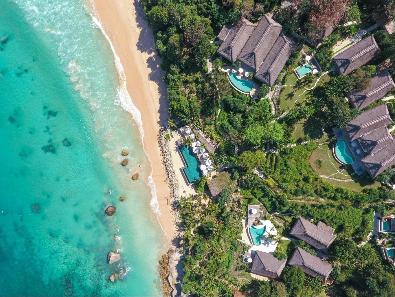Nihi Sumba Hotel review, Drone shot