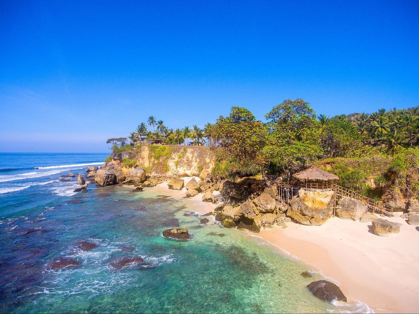 Nihi Sumba Hotel review, Isolated island