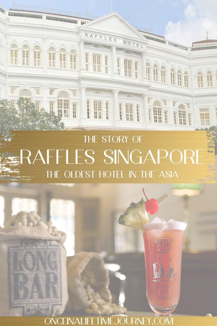 Raffles Singapore Pin