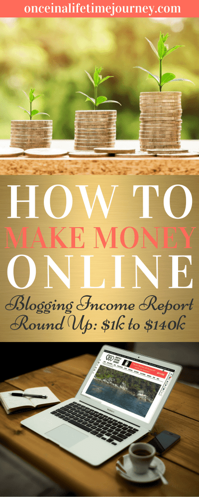 How to Make Money Online Blog income roundup