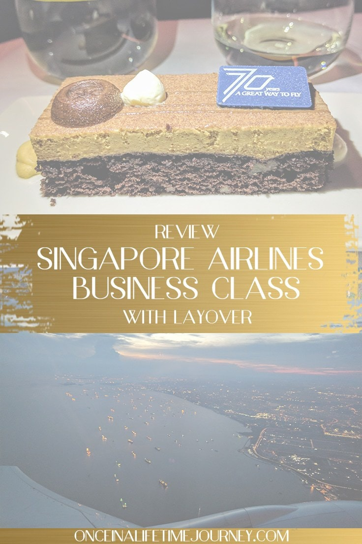 Singapore Airlines Business Class, Pin