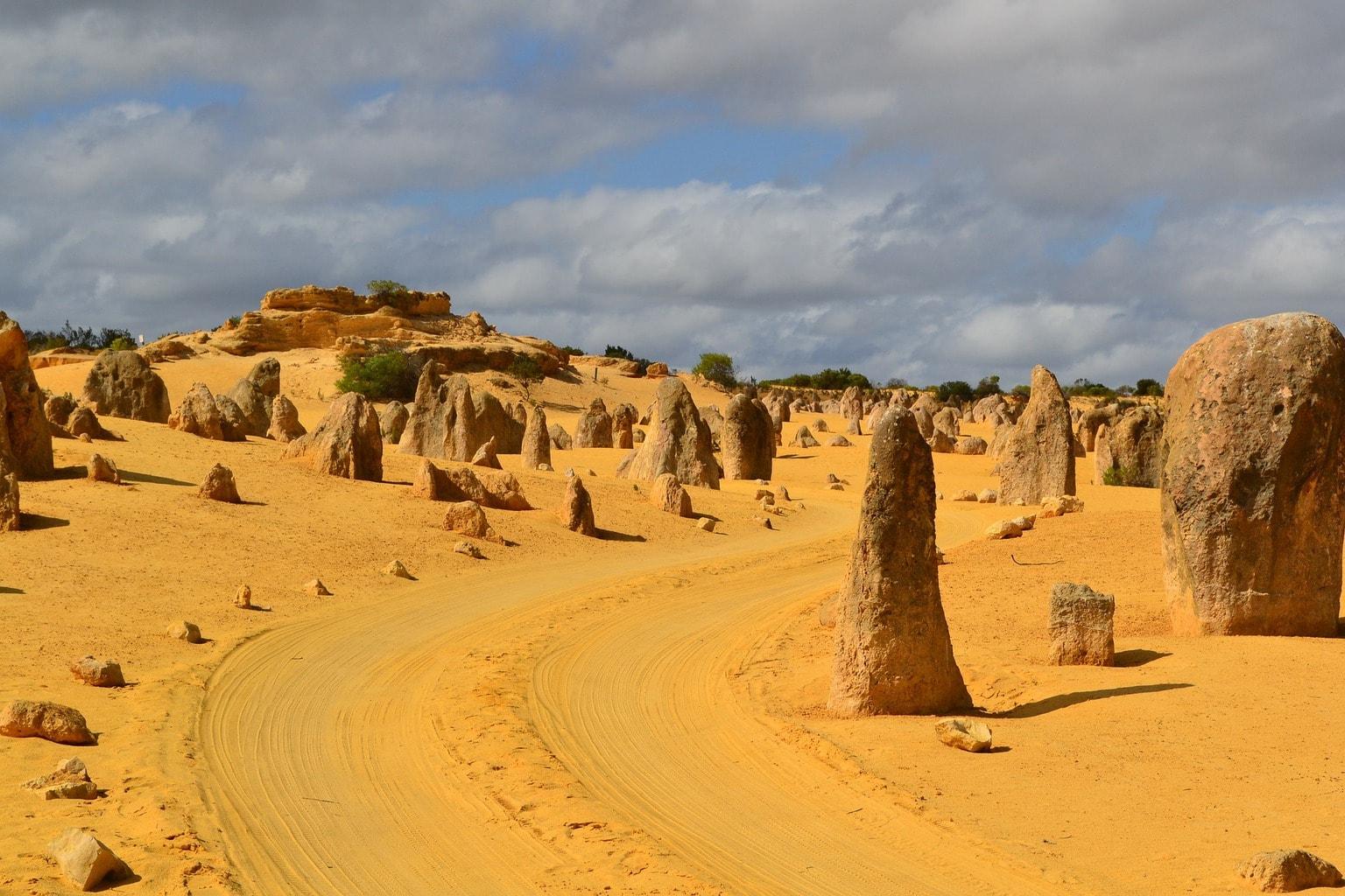 Pinnacles in Western Australia