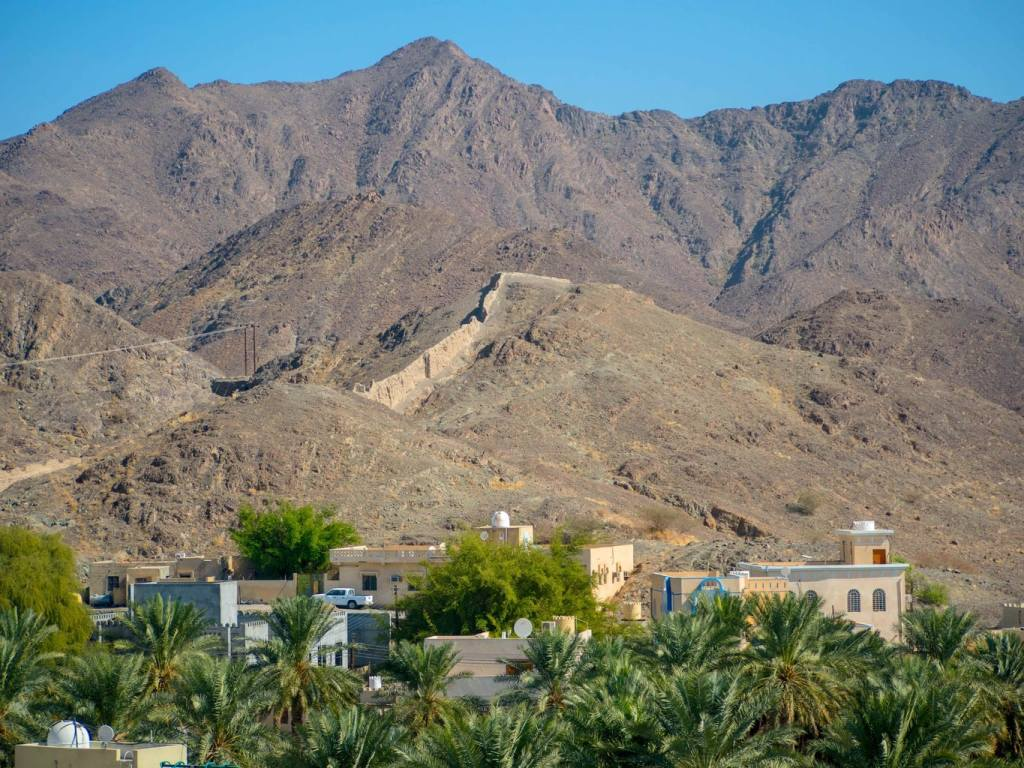 Bahla Fort Mountains