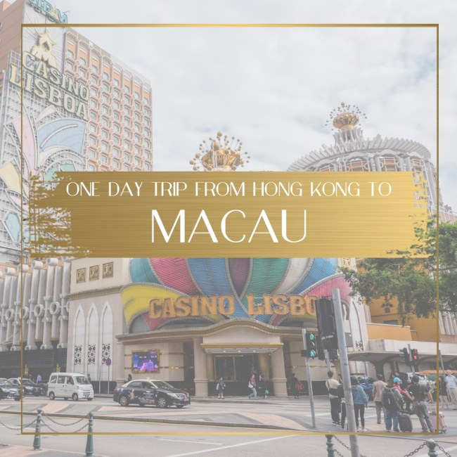 Day trip to Macau Feature