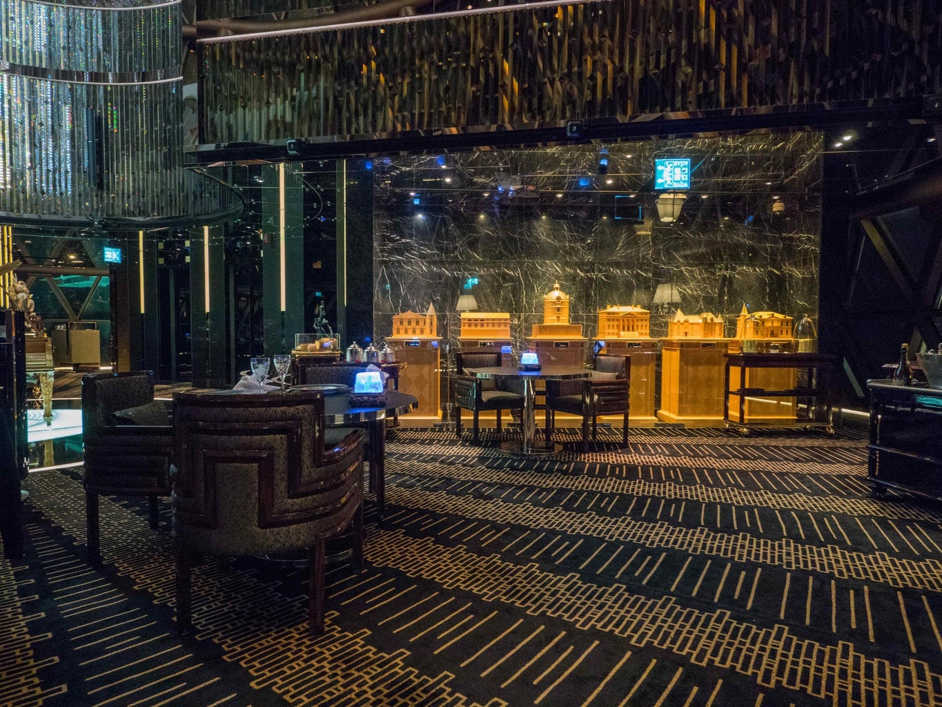 Robuchon au Dome Macau Interior