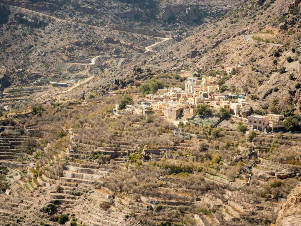 Jabal Akhdar falaj system